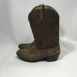Durango Mens Brown Cowboy Boots 9EE